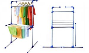 MULTI-PURPOSE STAINLESS STEEL DRYING RACK