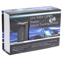 Vehicle Real-Time Tracking Device GPS/SMS/GPRS Tracker TK103A