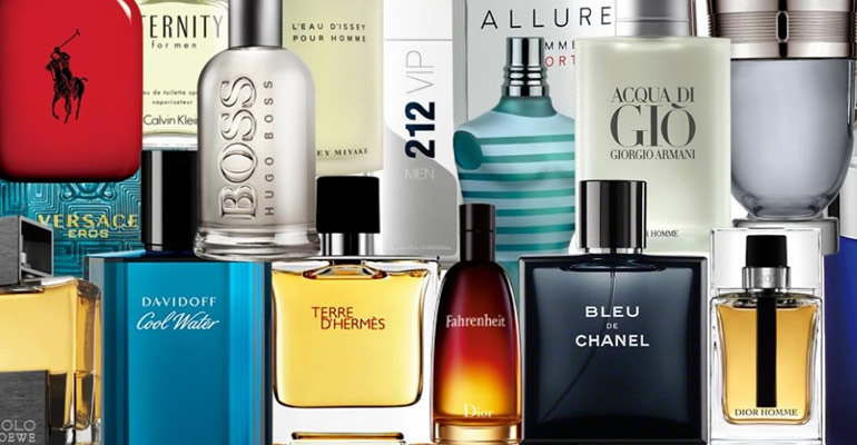 Spoil yourself with our wide range of perfume